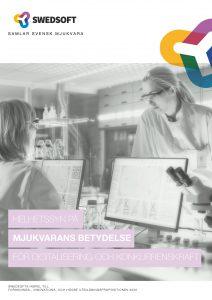 Swedsoft - Helhetssyn på mjukvarans betydelse för digitalisering och konkurrenskraft