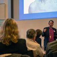 Biskop Johan Tyrberg avslutar STEW